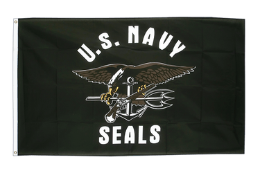 USA Navy Seals 3x5 ft Flag