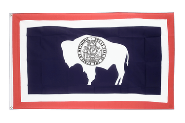 Wyoming - 3x5 ft Flag