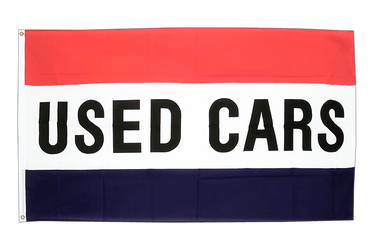 Used cars 3x5 ft Flag