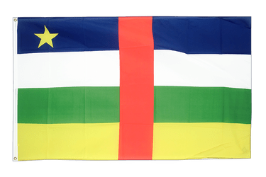 Central African Republic 3x5 ft Flag