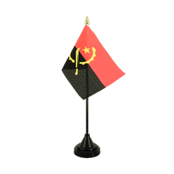 Angola - Table Flag 4x6""