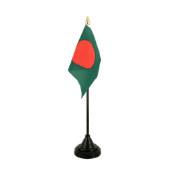 Bangladesh Mini drapeau de table 10 x 15 cm