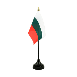 Bulgaria Table Flag 4x6""