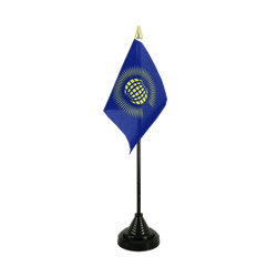 Commonwealth Table Flag 4x6""
