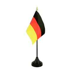 Mini drapeau de table allemand - 10 x 15 cm