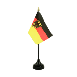 Germany Dienstflagge Table Flag 4x6""