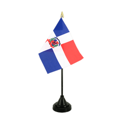 Dominican Republic - Table Flag 4x6""