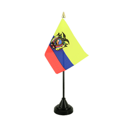 Ecuador Table Flag 4x6""
