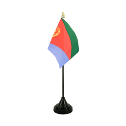 Eritrea - Table Flag 4x6""