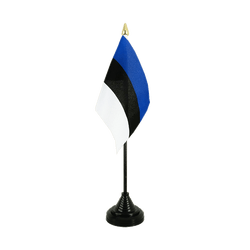 Estonia Table Flag 4x6""