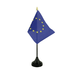 European Union EU Table Flag 4x6""