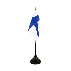 Finland Table Flag 4x6""