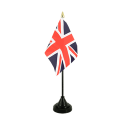 Great Britain Table Flag 4x6""