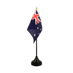 Mini drapeau de table Australie 10 x 15 cm