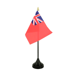 Mini drapeau de table Red Ensign 10 x 15 cm