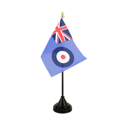 Royal Airforce Table Flag 4x6""