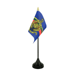 Royal Marines Table Flag 4x6""