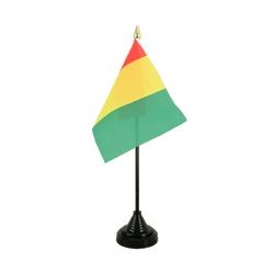 Guinea - Table Flag 4x6""