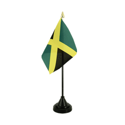 Jamaica - Table Flag 4x6""