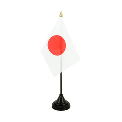 Mini drapeau de table Japon 10 x 15 cm