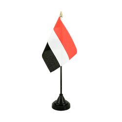 Yemen Table Flag 4x6""