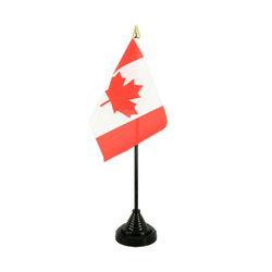 Mini drapeau de table Canada - 10 x 15 cm
