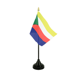 Comoros Table Flag 4x6""