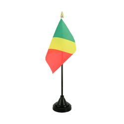 Congo Table Flag 4x6""