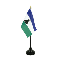 Lesotho new Table Flag 4x6""