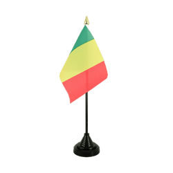 Mali Table Flag 4x6""