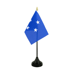 Micronesia Table Flag 4x6""