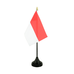 Monaco Table Flag 4x6""