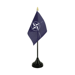 NATO Table Flag 4x6""