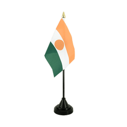 Niger Table Flag 4x6""