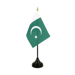 Pakistan Mini drapeau de table 10 x 15 cm