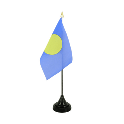 Palau Table Flag 4x6""