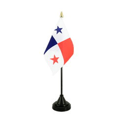 Mini drapeau de table Panama - 10 x 15 cm