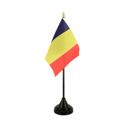 Rumania Table Flag 4x6""