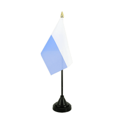 San Marino without crest Table Flag 4x6""