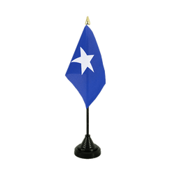 Mini drapeau de table Somalie - 10 x 15 cm