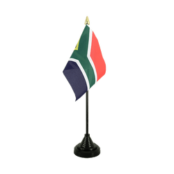 South Africa Table Flag 4x6""