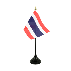 Thailand Table Flag 4x6""