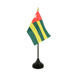 Togo Table Flag 4x6""