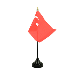 Turkey - Table Flag 4x6""