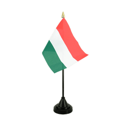 Hungary - Table Flag 4x6""