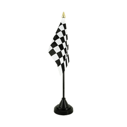 Checkered Table Flag 4x6""