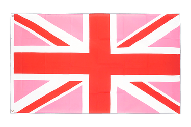 Union Jack pink - 2x3 ft Flag