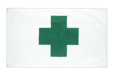 Green Cross 2x3 ft Flag