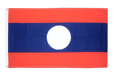 Laos 2x3 ft Flag