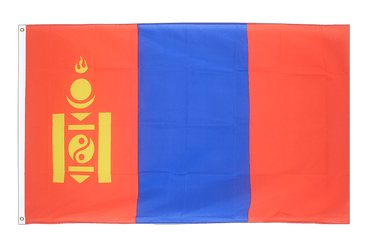 Mongolia - 2x3 ft Flag